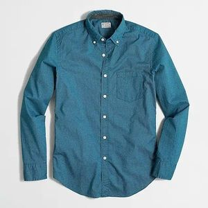 J Crew Printed Washed Shirt